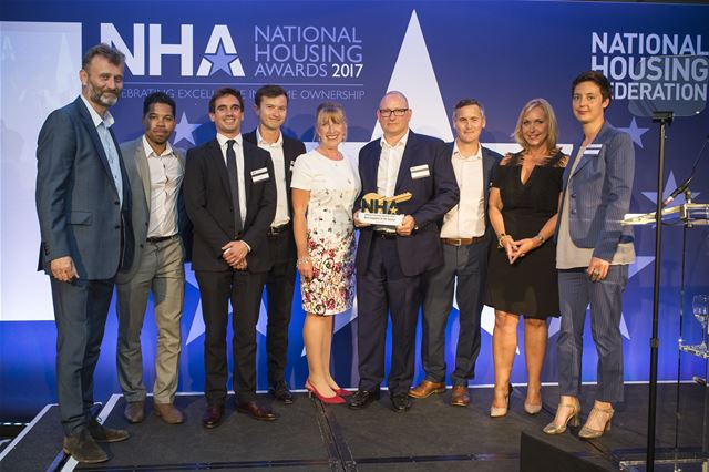 Red Loft wins coveted accolade of Best Supplier to the sector at NHA National Housing Awards 2017